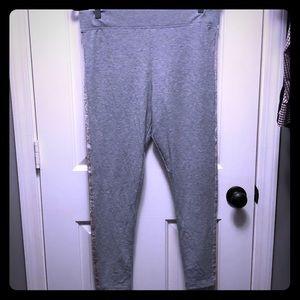 Victoria's Secret  grey sleep leggings size L NWOT
